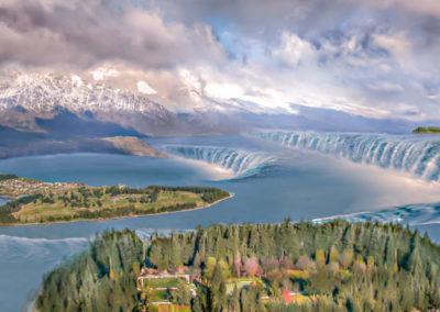 lake Wakatipu - une autre vision