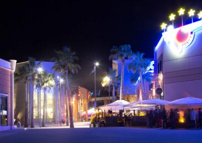Nuit sur l'Odysseum - Montpellier - France